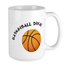B-ball Diva Ceramic Mugs