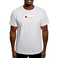 I Love Kona Coffee T-Shirt