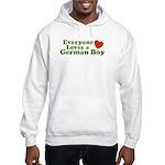 Everyone Loves a German Boy Hooded Sweatshirt