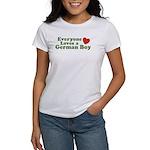 Everyone Loves a German Boy Women's T-Shirt