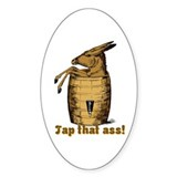 Tap That Ass Oval Sticker (50 pk)
