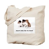Tote Bag (Smooth Collie puppies)