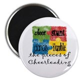 Pieces of Cheer 2.25&amp;quot; Magnet (10 pack)