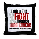 In The Fight 1 LC (Son-In-Law) Throw Pillow