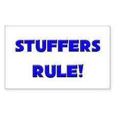 Stuffers Rule! Rectangle Decal
