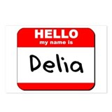 Hello my name is Delia Postcards (Package of 8)