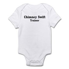Chimney Swift trainer Infant Bodysuit