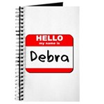 Hello my name is Debra Journal