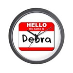 Hello my name is Debra Wall Clock