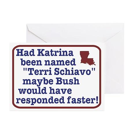Had Katrina been named Terri Greeting Cards (Pack
