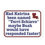 Had Katrina been named Terri Postcards (Package o