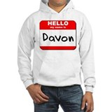 Hello my name is Davon Jumper Hoody