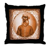 Schnauzer BEAUREGARD Throw Pillow