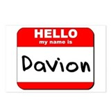 Hello my name is Davion Postcards (Package of 8)