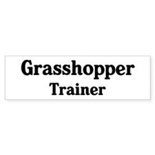 Grasshopper trainer Bumper Sticker (50 pk)