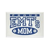 Proud EMT's Mom Rectangle Magnet
