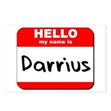 Hello my name is Darrius Postcards (Package of 8)