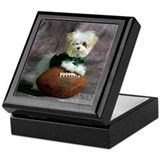 Cute Maltese Puppy Dog Keepsake Box