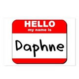 Hello my name is Daphne Postcards (Package of 8)