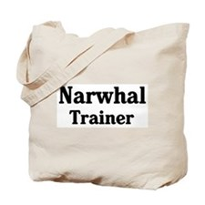 Narwhal trainer Tote Bag