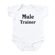 Mule trainer Onesie