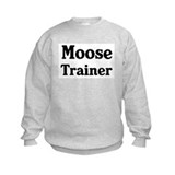 Moose trainer Sweatshirt