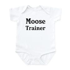 Moose trainer Onesie