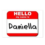 Hello my name is Daniella Postcards (Package of 8)