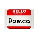 Hello my name is Danica Rectangle Magnet (10 pack)