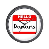 Hello my name is Damaris Wall Clock