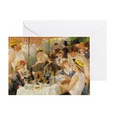 Luncheon of the Boating Party, 1881 Greeting Card