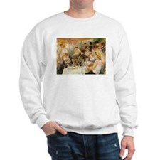 Luncheon of the Boating Party, 1881 Sweatshirt