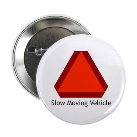 "Slow Moving Vehicle Sign - 2.25"" Button (100 pack)"
