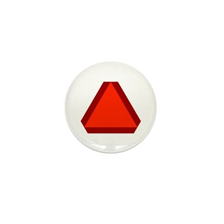 Slow Moving Vehicle Sign - Mini Button (100 pack)