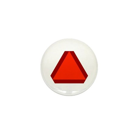 Slow Moving Vehicle Sign - Mini Button (10 pack)