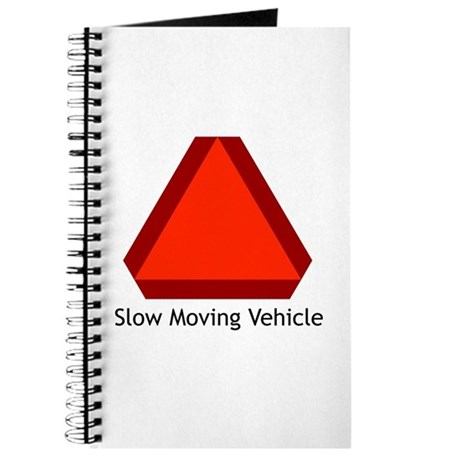 Slow Moving Vehicle Sign - Journal