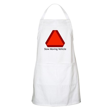 Slow Moving Vehicle Sign - BBQ Apron
