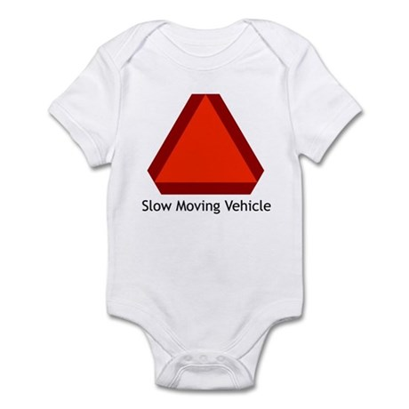 Slow Moving Vehicle Sign - Infant Creeper