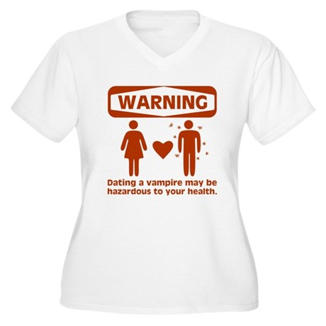 Warning Women's Plus Size V-Neck T-Shirt