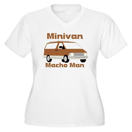 Minivan Women's Plus Size V-Neck T-Shirt