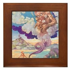 The Genie Framed Tile