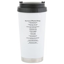 Laws of P.T. Ceramic Travel Mug