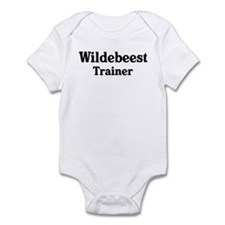 Wildebeest trainer Infant Bodysuit