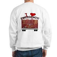 I Love EMERGENCY! Sweatshirt