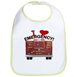 I Love EMERGENCY! Bib