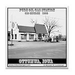 Vintage Gas Station Tile Coaster