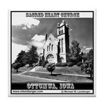 Sacred Heart Church Tile Coaster