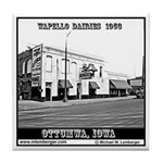 Wapello Dairies Tile Coaster