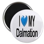 I Love My Dalmation Magnet