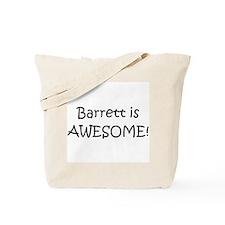 Cute I love barrett Tote Bag